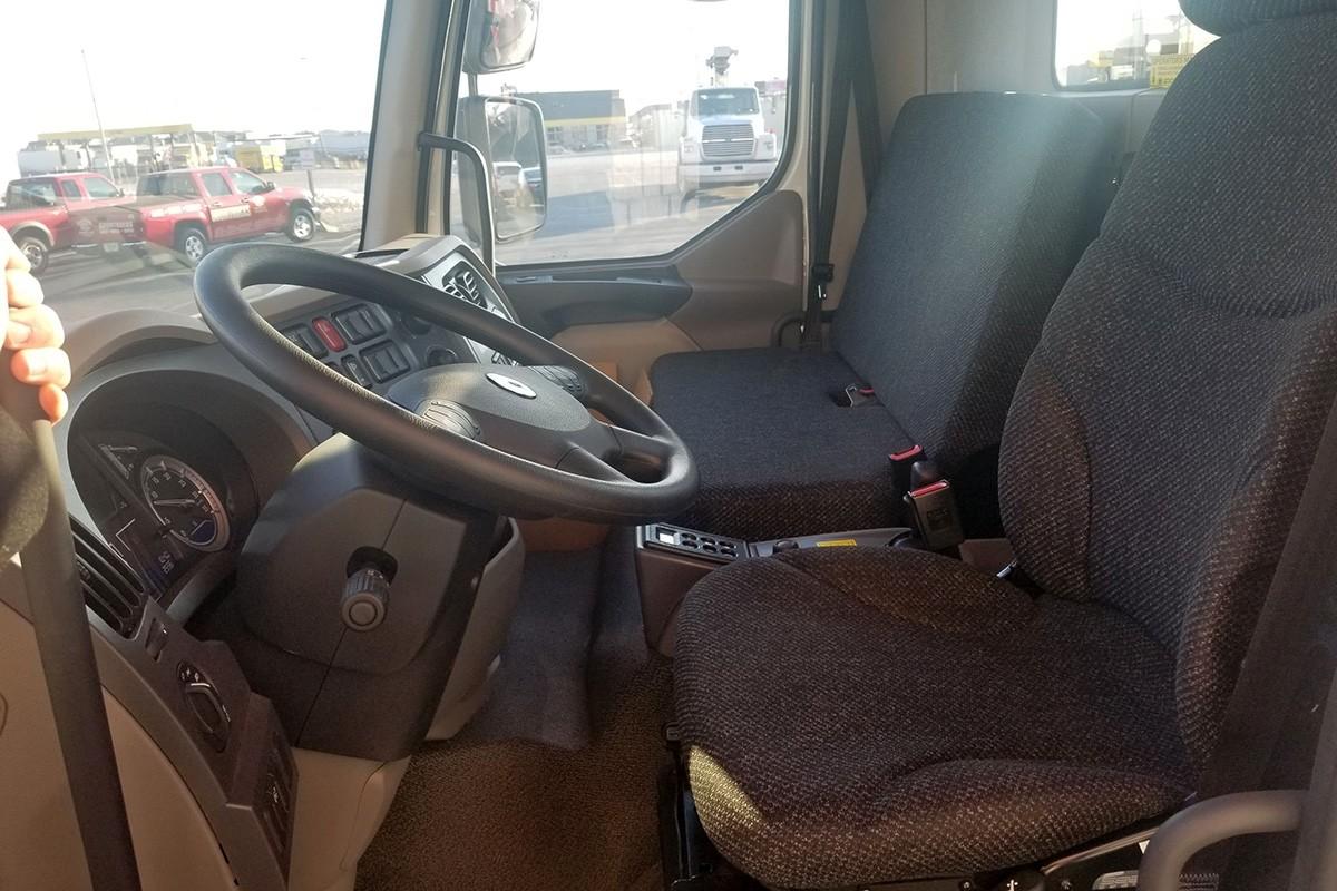 Manitex 22101S on 2020 Peterbilt Cabover 220 - Truck cab interior
