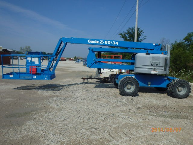 GENIE Z60/34RT Articulate Boom Stock #78032