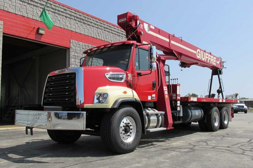 Terex BT5092 on Freightliner 108SD Front Driver Side