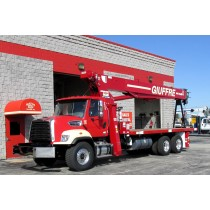 Terex BT4792 on 2016 Freightliner 108SD -  front street side view