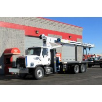Manitex 30102C on 2016 Freightliner Auto - Front Street Side View