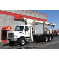 National 8100D on 2007 Freightliner M2 106V 6x6 - Front driver's side view