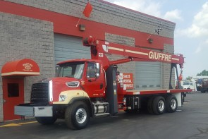 Manitex 2892C on 2018 Freightliner 108SD - Front driver's side