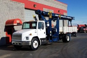 Used Pioneer 1000 on 1996 Freightliner FL70 Front Driver's Side