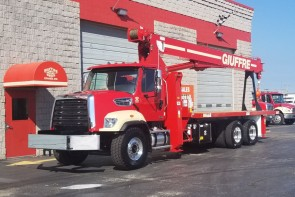 Manitex 2892C on 2019 Freightliner 108SD - Front Street Side