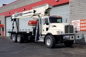 Terex BT5092 on 2019 Kenworth T470 - Front Passenger Side
