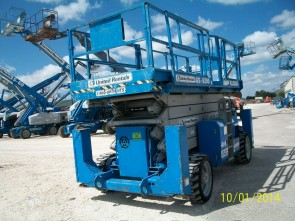 GENIE GS5390RT Scissor Lift Stock #76971