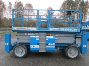 GENIE GS3390RT Scissor Lift Stock #77391