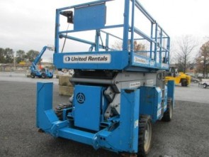 GENIE GS4390RT Scissor Lift Stock #77392