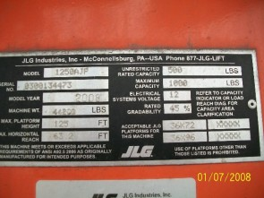 JLG AJP1250 Articulate Boom Stock #77473