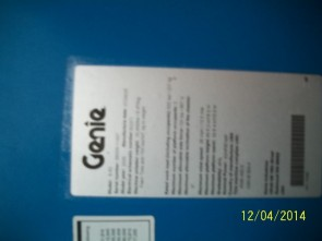 GENIE S60 Straight Boom Stock #78644