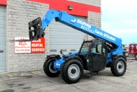 2015 Genie GTH-844 Telehandler - front cab side view