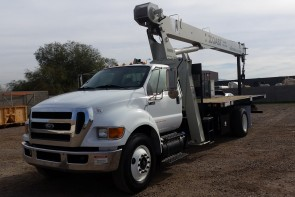 National 571E2 on 2011 Ford F750 - Front street side view