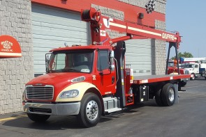 Manitex 1970C on 2018 Freightliner M2 - Front street side