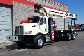 Terex BT28106 on 2019 Kenworth T470 - Front Street Side View
