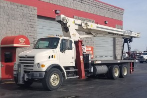 Terex BT5092 on 2007 Sterling LT7501 - Front Driver's Side