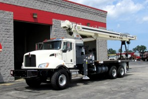 Terex BT70100 on 201 Kenworth T470 front driver's side