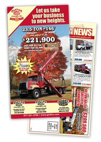 October 2014 - Giuffre Bros Crane of the Month Flyer