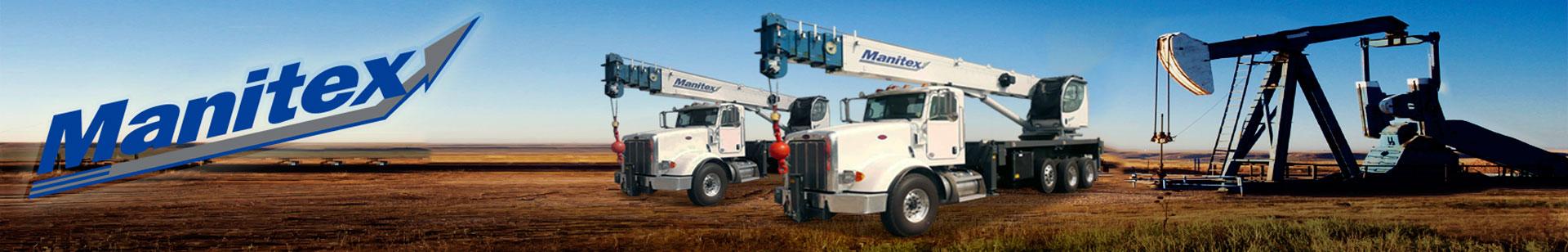 Manitex Cranes and Boom Trucks for Sale
