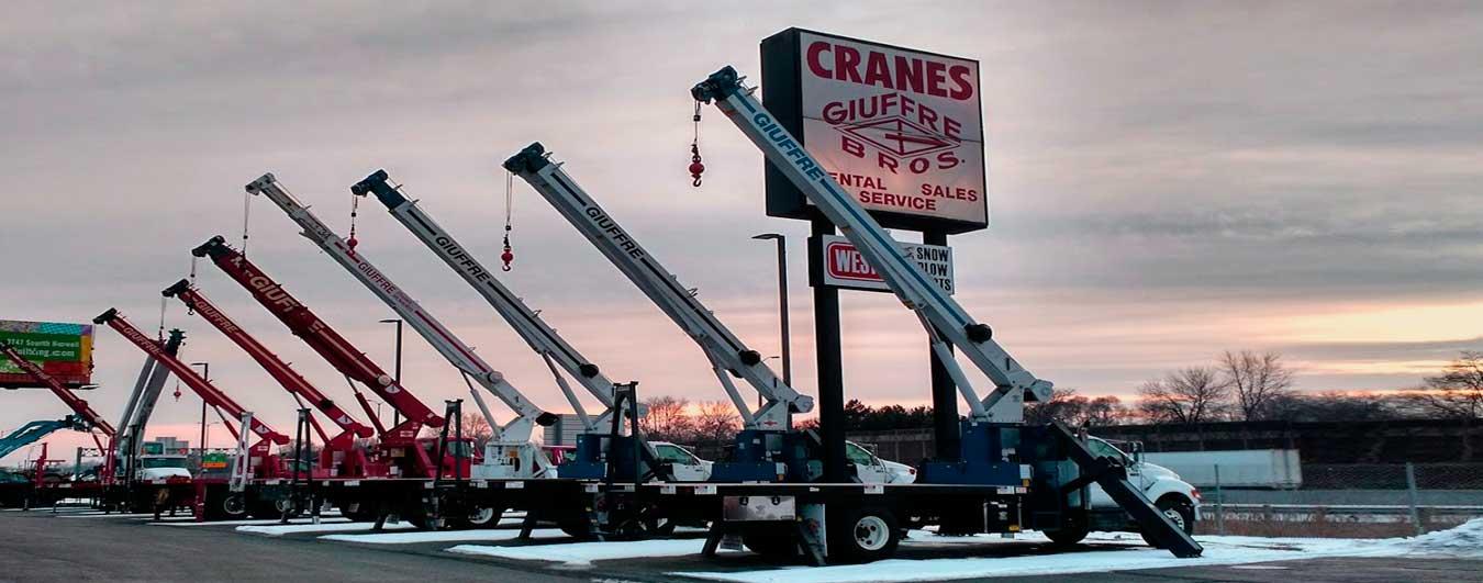 Giuffre Bros Cranes & Boom Trucks