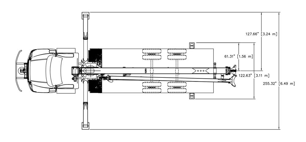 18 Ton Terex Bt3670 95 on ford rear axle diagram