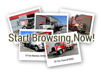 View New & Used Boom Truck Inventory for Sale Now