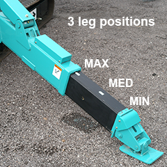 Multi Position Outriggers