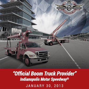 Giuffre Bros Cranes / Boom Trucks Indy Winner